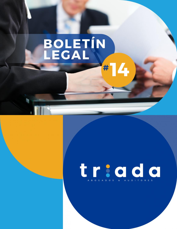 Actualidad Normativa. Boletín Legal # 14
