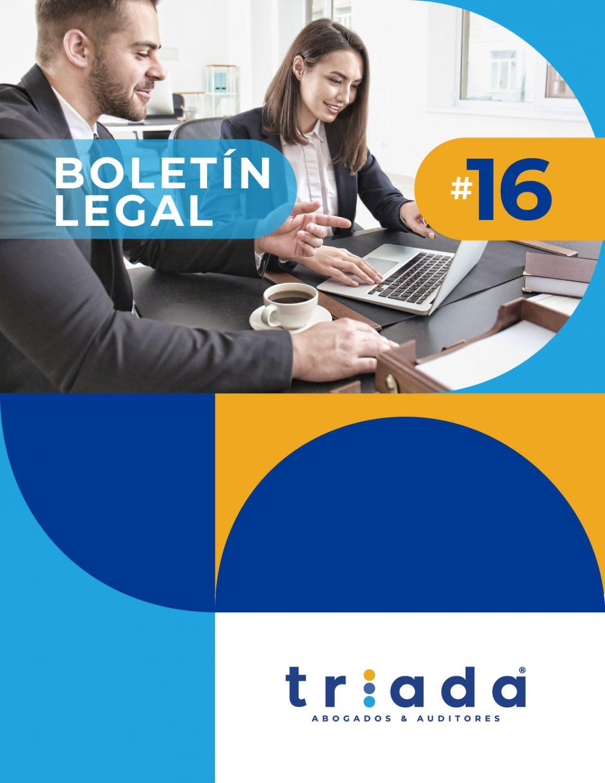 Actualidad Normativa. Boletín Legal # 16