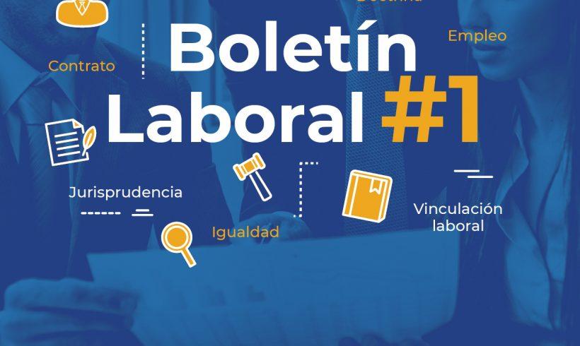 Boletín Laboral # 1. Septiembre 2021