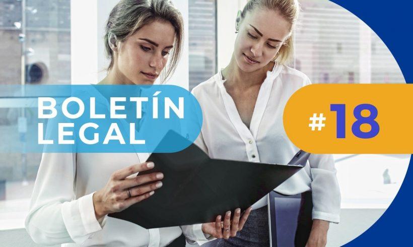 Actualidad Normativa. Boletín Legal # 18